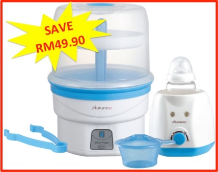 combo steriliser home fb
