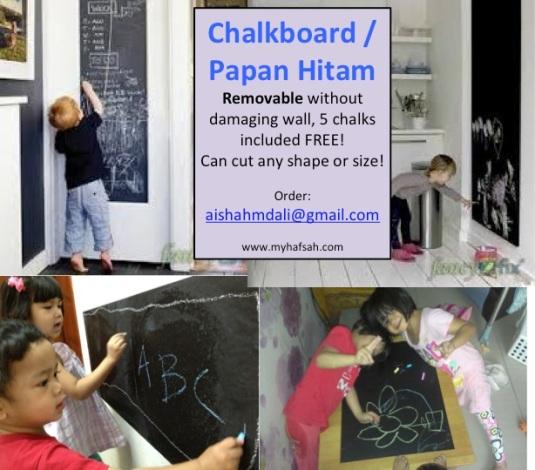chalkboard iklan