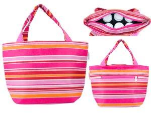 Trendy Rose Pink Stripes